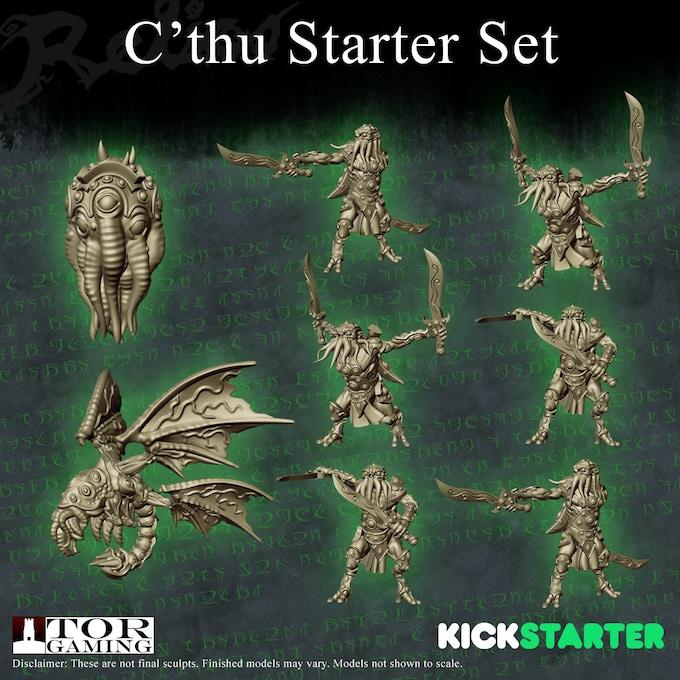 C'thu Starter Set Sculpts