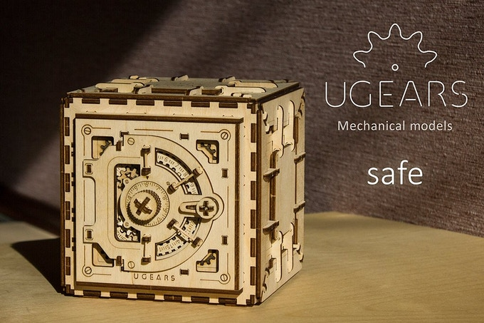 UGEARS: Self-propelled mechanical models (#2) by UGEARS