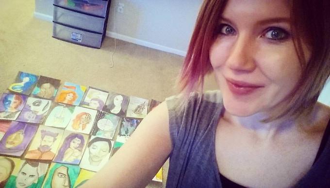 So much art! :)