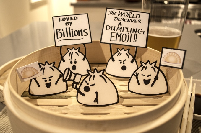 Picketing Dumplings by Christina Gualy