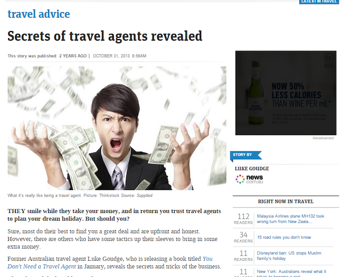 You Don't Need a Travel Agent :: How-to book your own travel by Luke