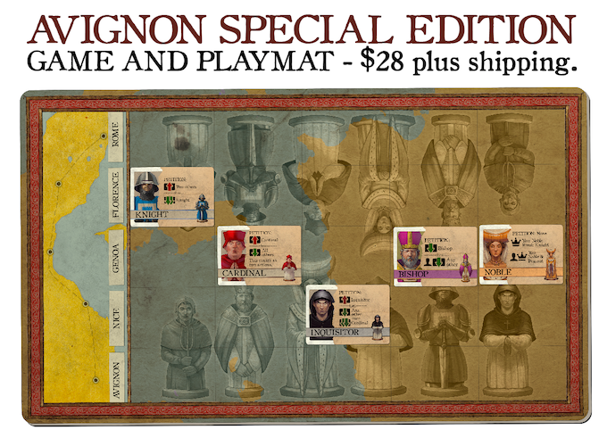 avignon a clash of popes a two player micro card game by jason tagmire kickstarter. Black Bedroom Furniture Sets. Home Design Ideas