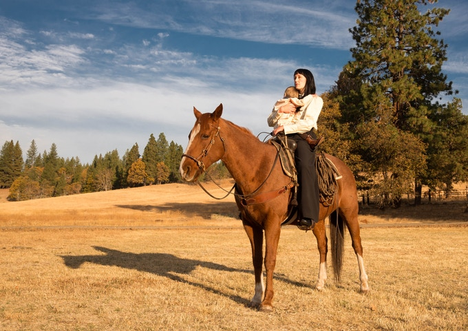 """""""If you should see her out riding her pony, don't lay a hand on her child."""""""