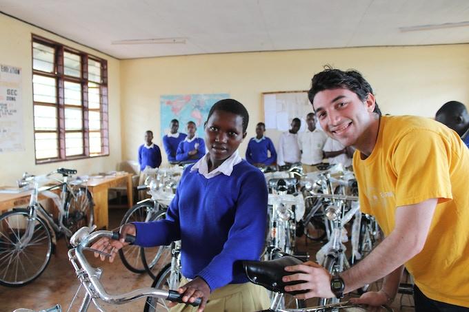 Pedal Forward in Ngara district of Tanzania