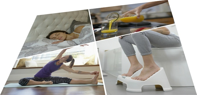 TURBO Footstool - A Bathroom Must Have for Better Health by Tikeswar