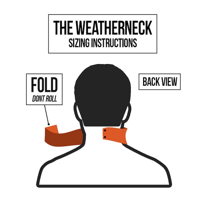 The Weatherneck-A Quick Release Bandana for the Outdoors