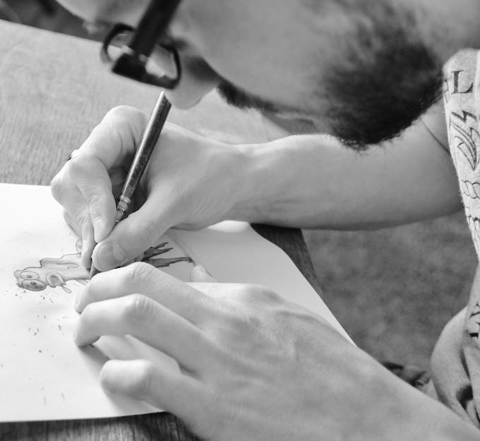 Stefan drawing - again
