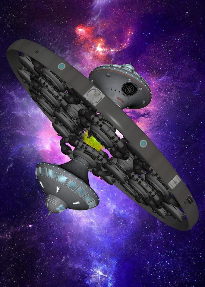 Ship Prototype, Don VanAusdoll