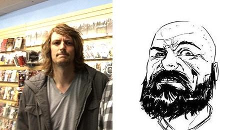 Ryan Ellsworth (creator/writer) and Robert Carey (illustrator)