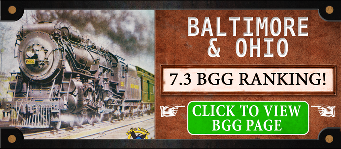 Baltimore & Ohio is also available as a $25 Add-On. You can also purchase Baltimore & Ohio, it's Expansion, and New England Railways together for $45!