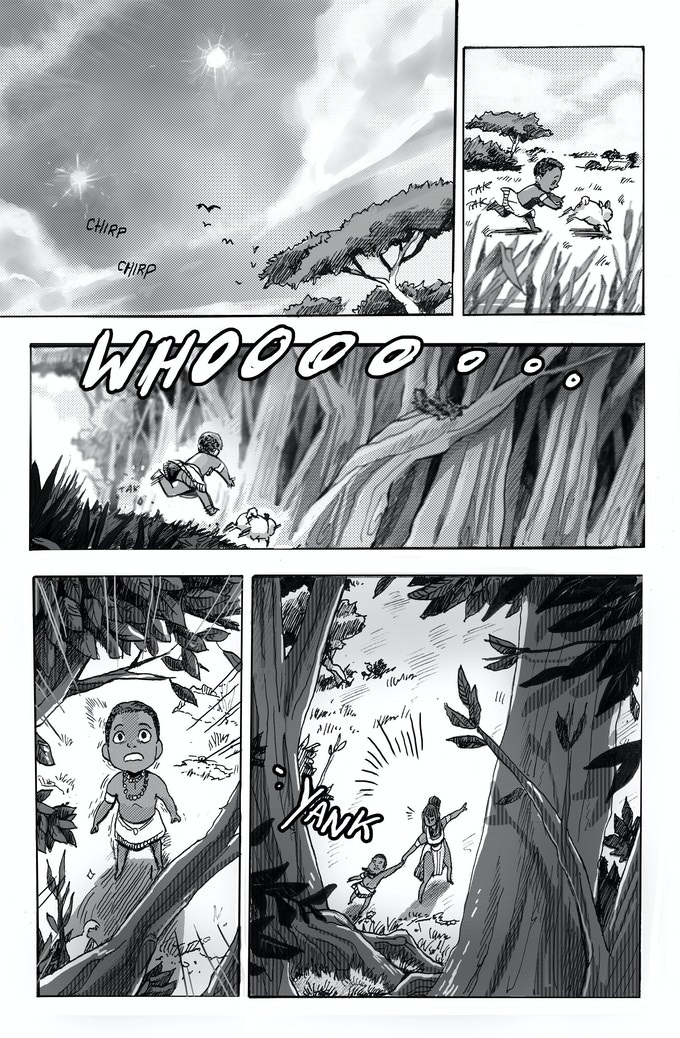 Story by Isaiah Smalley. Art by Vincent Kao.