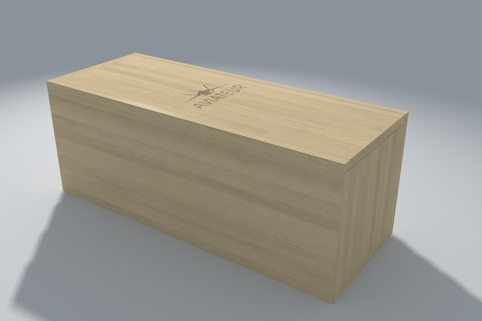 packing - wooden box