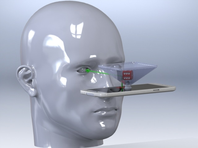 Hologram Pyramid Optics