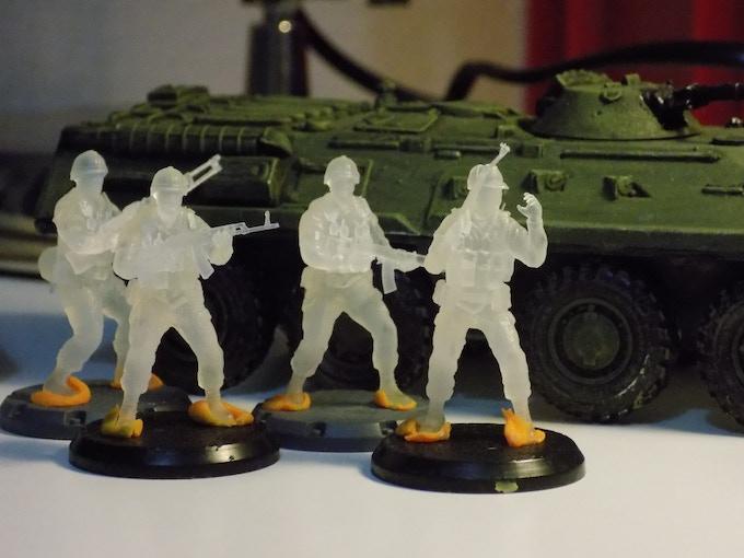 modern war games 28 mm russians