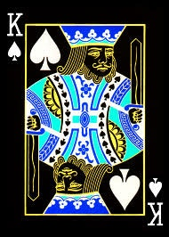 King of Spades.
