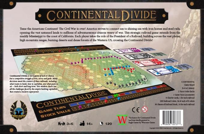 Continental Divide -- Box Back