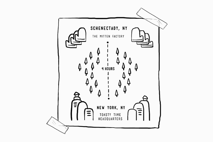 TOASTY TIME: Hoodies with mittens for pockets by #