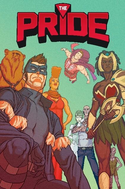 The Pride #1 cover by Kris Anka