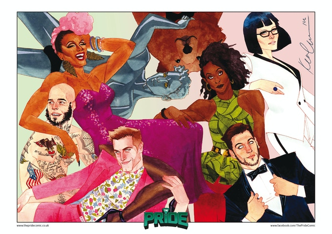 The Pride Summer Fashion print by Kevin Wada