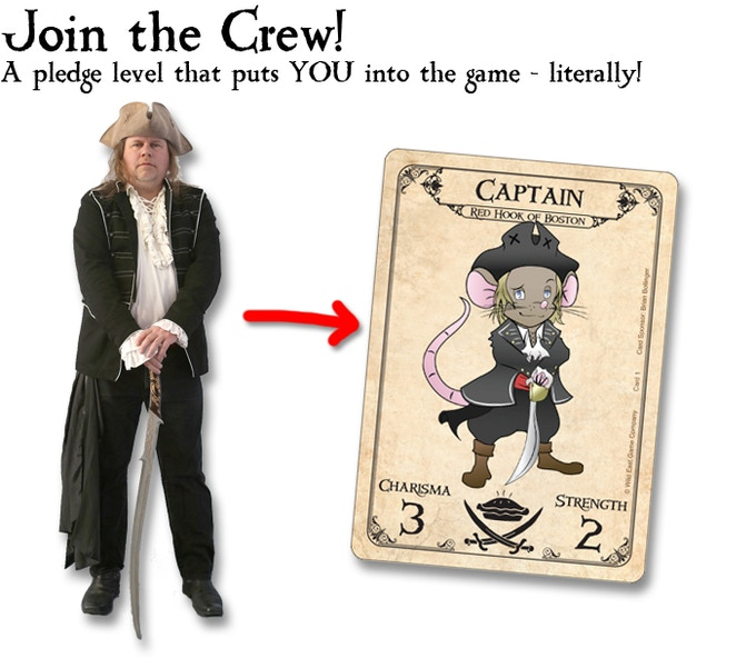 "A ""Rat-a-tized"" version of yourself as a Crew Member!"