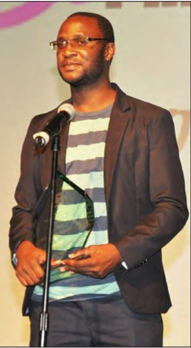 Hassan Kamoga at qFLIX film festival philadelphia.