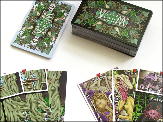The Root cards (left) and Forest cards