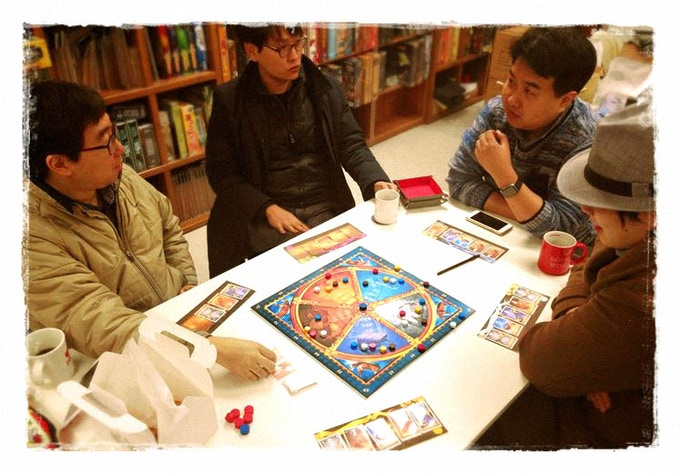 A prototype version of the new edition being played