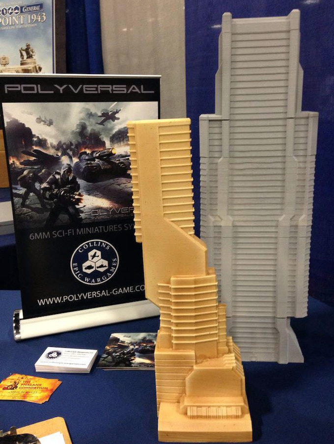 Building Prototypes on display at a convention