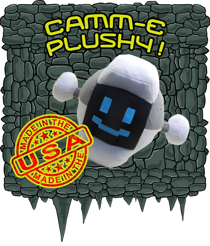 Camm-E 12 inch Plushy is here!