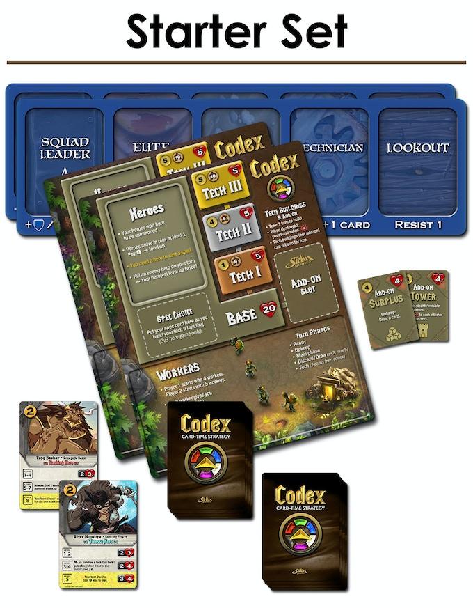 Codex by David Sirlin — Kickstarter