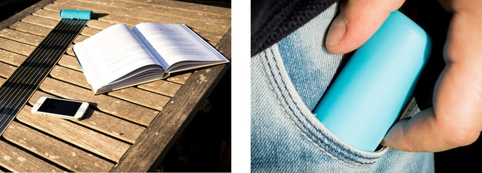 HeLi-on, the solar charger for your pocket!