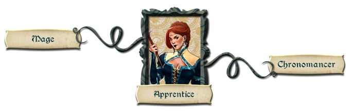 Apprentice and her specializations