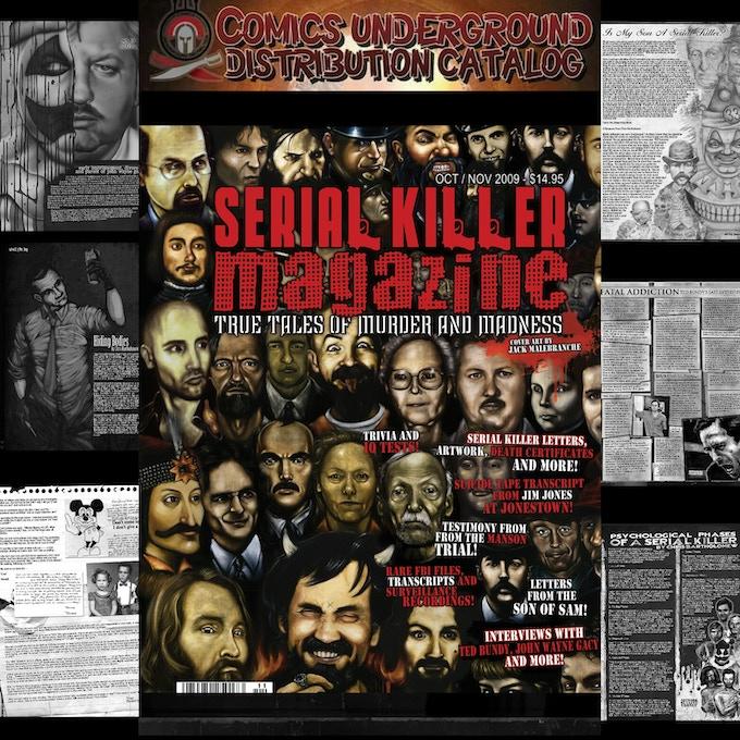 Serial  Killer Magazine Issue # 7