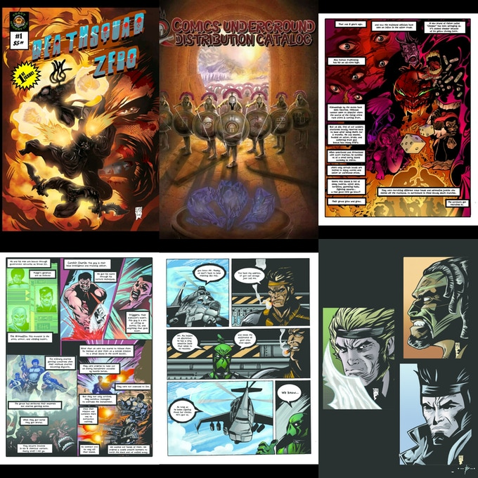 Deathsquad issue # 0