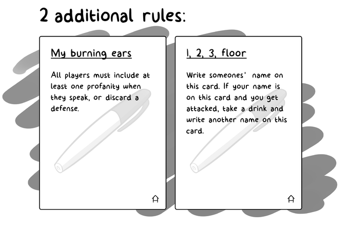 House Rules (Canceled) on BackerClub