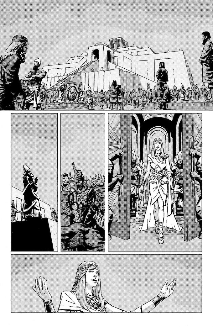 Story by Jeff Provine. Art by Ari Syahrazad.