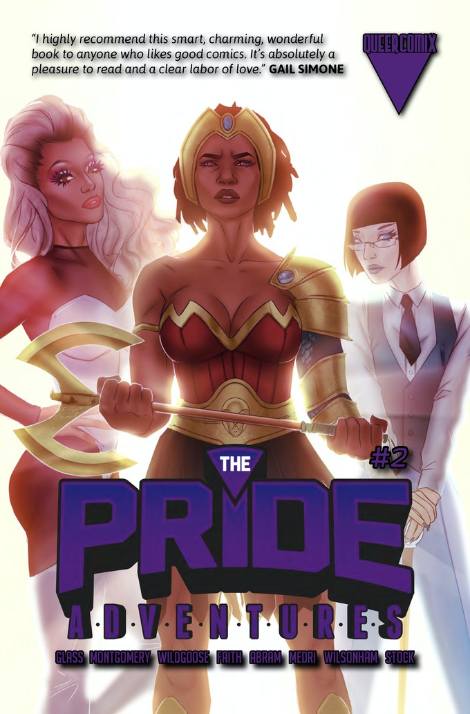The Pride Adventures #2 cover by W. Scott Forbes