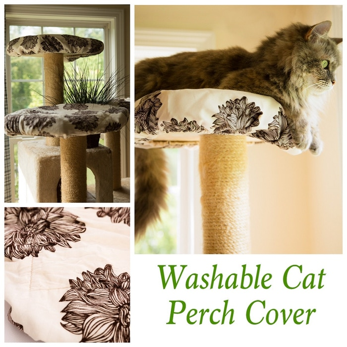 Tired of cleaning cat hair? Climb-It Cat is the world's first washable, organic cotton, reusable cover! Made in America.