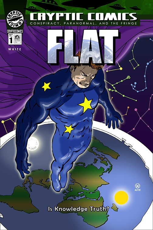 """FLAT"" Issue #1 cover"