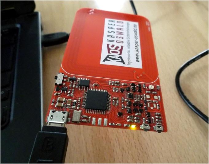 """Hand-soldered internal protoype termed """"Rev.F"""""""