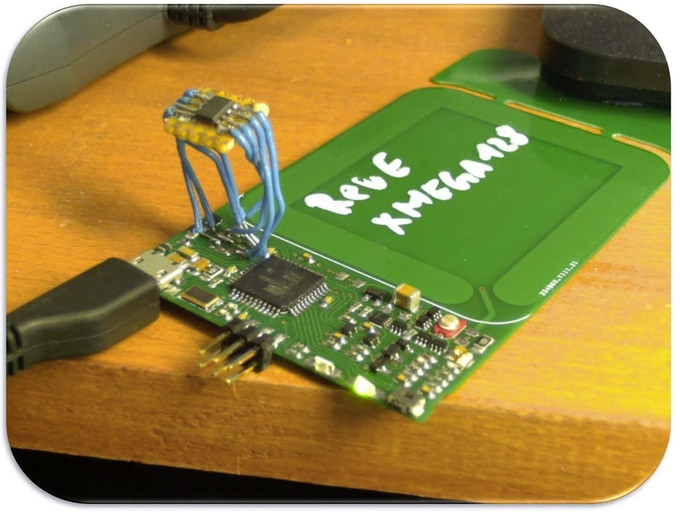Modified Rev.E with XMega128 and external FRAM