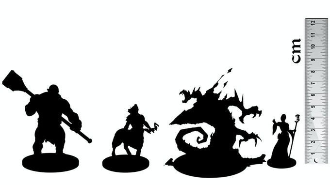 Scale of Nova Aetas miniatures