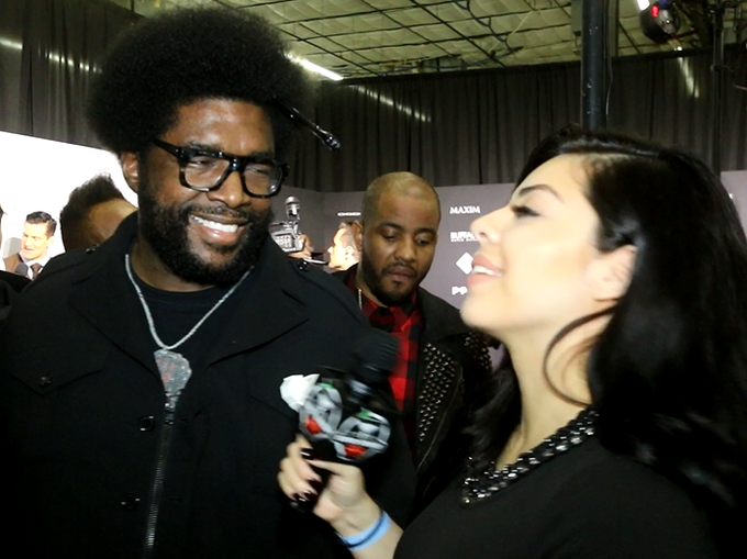 Marlu Silva interviews The Roots at the Maxim Party