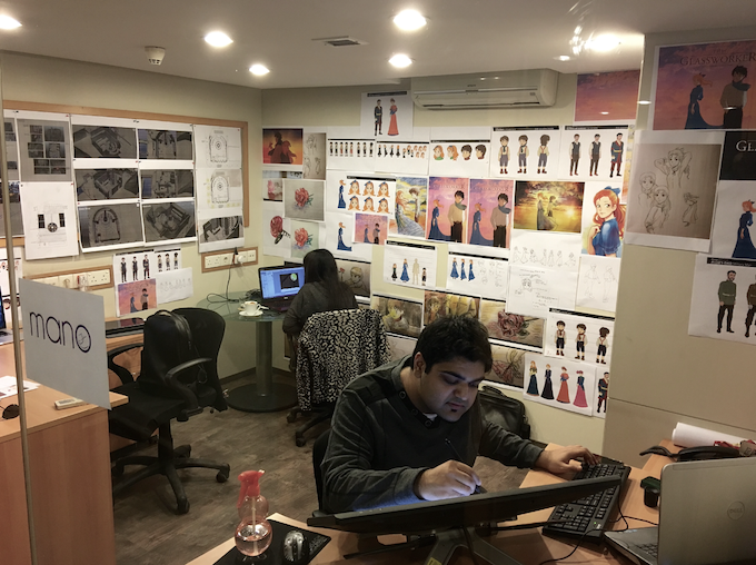 Animating in Pakistan