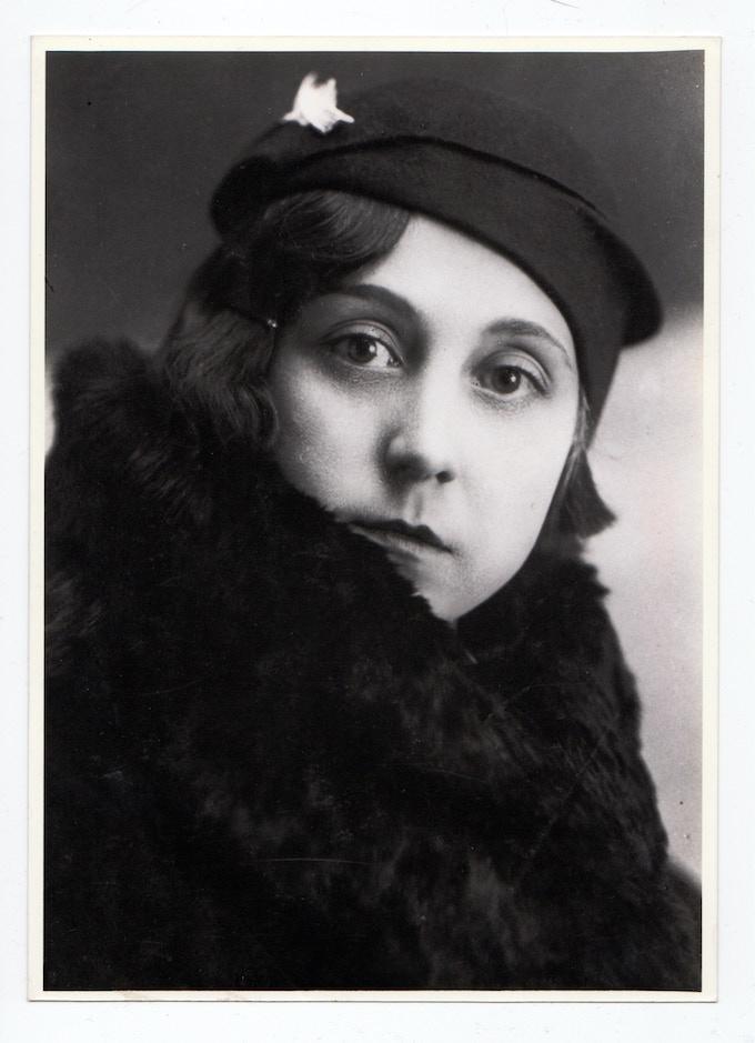 Sofia Wojcik (pictured here in the 1930s) took in Kossenko as a boarder