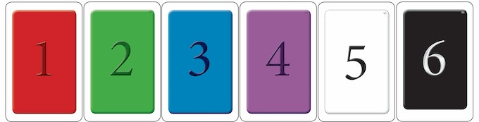 Color Cards to determine Color Round