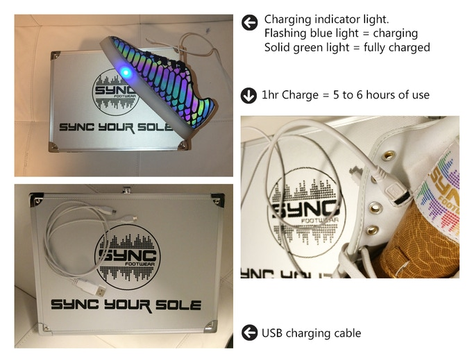 Sync charging info