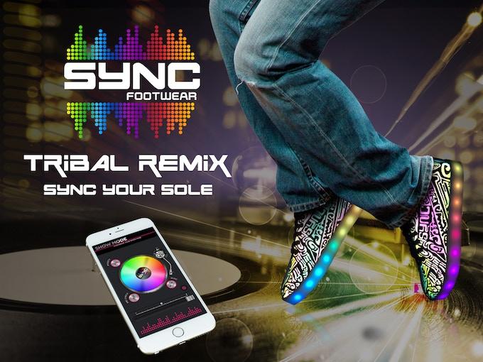 Sync Footwear - Tribal Remix