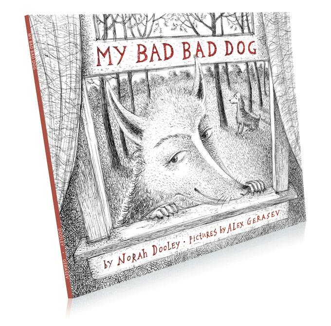 "My Bad Bad Dog, 7.5"" x 9"", softcover, 38 pages"