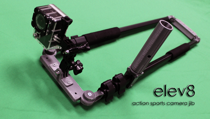 Portable Lightweight Action Sports Camera Jib